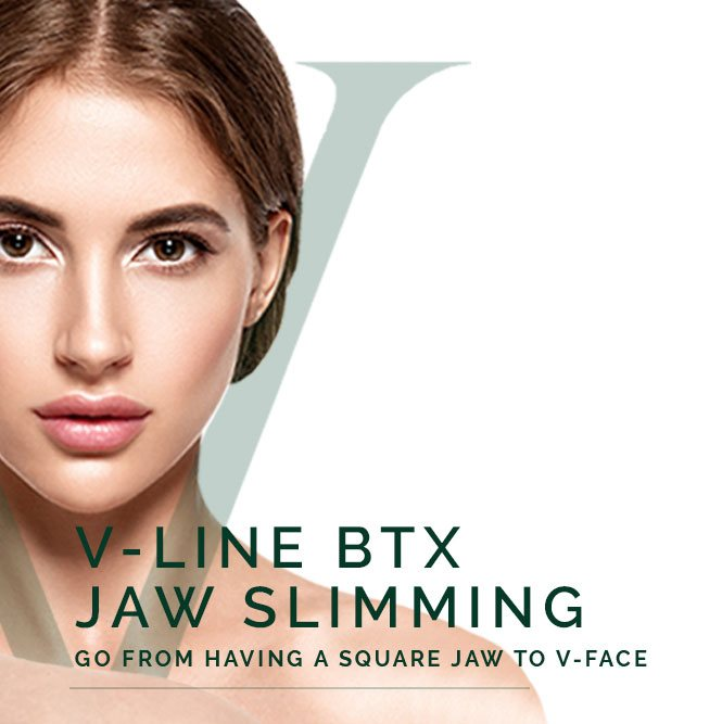 v-line btx jaw slimming face
